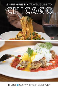 Whether you're looking to try Beatrix for brunch or The Vig for classic American plates with a twist, you'll find exactly what you're looking for in our Sapphire Six travel guide to Chicago, based on the spending of Chase Sapphire Reserve cardmembers. Start planning your next night out in the Windy City today.