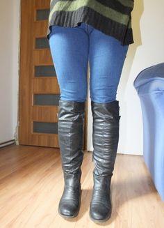Kup mój przedmiot na #vintedpl http://www.vinted.pl/damskie-obuwie/kozaki/10432979-czarne-kozaki-do-kolan-ccc-37