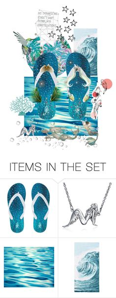 """""""💙You can either see yourself as a wave in the ocean or you can see yourself as the ocean💙"""" by maijah ❤ liked on Polyvore featuring art"""