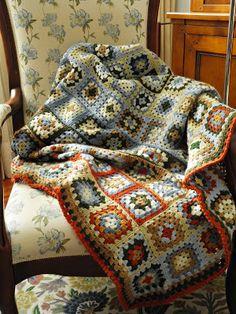 Workshop Mary Cross Stitch: Crochet Blanket .... Colors!