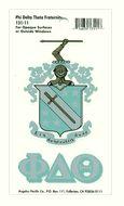 Phi Delta Theta Crest Decal