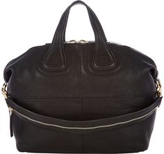Givenchy Women's Medium Nightingale Zanzi Satchel-BLACK