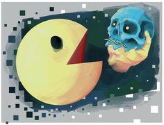 Paper Darts: ART + LIT - Literary Magazine - Nine Ways in which Pac-Man Speaks to the HumanCondition
