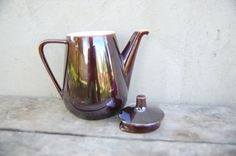 Vintage Villeroy and Boch Luxembourg Mid Century brown by semivint