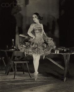 Anna Pavlova as Kitri in Don Quixote