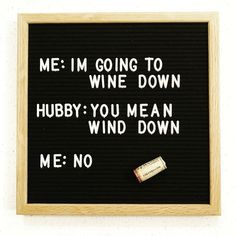 It's the weekend... time to 'wine' down :) #crafting credits: @hayleylynnlifestyle