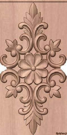 Wood Carving Designs, Wood Carving Patterns, Wood Carving Art, Wood Art, Wood Wood, Wooden Door Design, Wood Design, Ornaments Design, Wood Ornaments