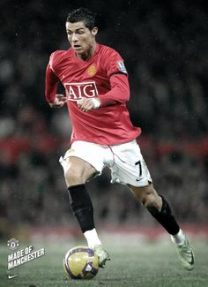 CR7 is also Made in Manchester United ;)