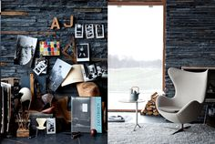 I have to post more photos than usual because the work of Danish photographer Ditte Isager is absolutely wonderful! I´m blown awa. Graphic Projects, Wooden Decks, Fritz Hansen, Cool Chairs, Unique Home Decor, Danish Design, Vintage Industrial, Vignettes, Scandinavian
