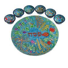 Seder Plate Seven Species by Yair Emanuel