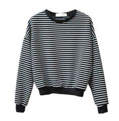 Stripped Sweatshirt