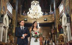 Urban Chic Wedding • Protaseis Gamou www.protaseisgamou.gr Urban Chic, Bridesmaid Dresses, Wedding Dresses, Chic Wedding, Real Weddings, Crown, Party, Bridesmade Dresses, Bride Dresses