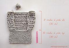 tutorial gorro oso Crochet Hooded Scarf, Crochet Baby Jacket, Baby Sweater Knitting Pattern, Crochet Backpack, Baby Hats Knitting, Crochet Scarves, Crochet Shawl, Knitted Hats, Crochet Bunny