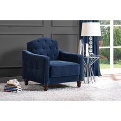 Novogratz Vintage Tufted Armchair, Multiple Colors