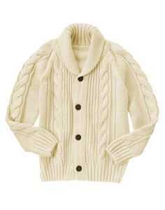 Cable Knit Cardigan at Gymboree