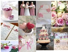 cream and pinks