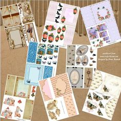 Single Sheet Gate Fold Cards on Craftsuprint - View Now!