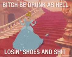 You know it's a tall tale when they say a woman left her shoe behind.  Ain't no woman I know gonna do that.