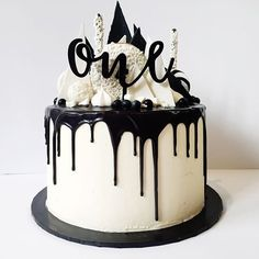 Image result for boys first birthday drip cake