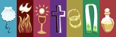 Symbols of the 7 Sacraments