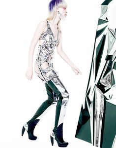 Manolo Campion Captures Jem and the Holograms Inspired Fashion for V