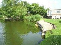 Lake Ross Caravan Park, West Pinchbeck, Spalding, Lincolnshire, England.
