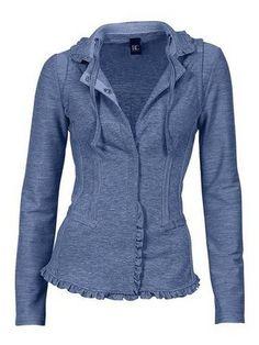 Sweat-Blazer im Online Shop von QUELLE Versand