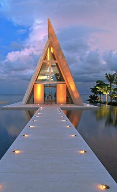 Wedding Chapel at the Conrad Hotel Bali in Nusa Dua, Bali • photo: Christian Beirle González on Flickr
