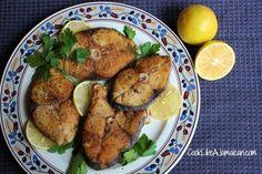 Jamaican Fried King Fish Recipe | Cook Like a Jamaican
