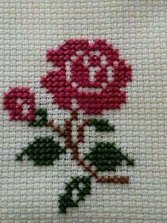 Thrilling Designing Your Own Cross Stitch Embroidery Patterns Ideas. Exhilarating Designing Your Own Cross Stitch Embroidery Patterns Ideas. Cross Stitch Heart, Cross Stitch Cards, Simple Cross Stitch, Mini Cross Stitch, Cross Stitch Flowers, Cross Stitching, Cross Stitch Embroidery, Embroidery Patterns, Hand Embroidery