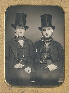 Men With Top Hats, ca 1849 | by The Patrick Montgomery Collection