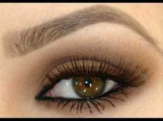 Natural Eye Makeup for Brown Eyes Tutorial