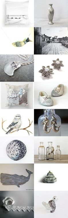 Softly to the Sea by Sharon on Etsy--Pinned with TreasuryPin.com