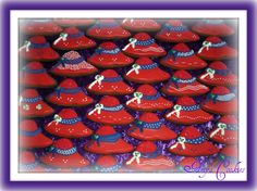 Red Hat Society Social cookies