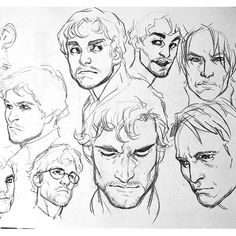 3,222 mentions J'aime, 26 commentaires - @xafeelgood sur Instagram : « #willgraham #hannibal #art #sketch »