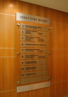 Custom made directory signs for businesses changeable company boards office walls or sign board designs. Signage Board, Office Signage, Hospital Signage, House Name Plaques, Directory Signs, Corporate Signs, Office Reception Design, Wayfinding Signs, Sign Board Design