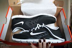 nike shoes. ♡ I just bought these for cross training, love them.