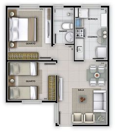 House Interior Luxury Beds 28 Ideas For 2019 20x30 House Plans, 2 Bedroom House Plans, Sims House Plans, House Layout Plans, Modern House Plans, House Layouts, Small House Plans, House Floor Plans, Small Apartment Plans