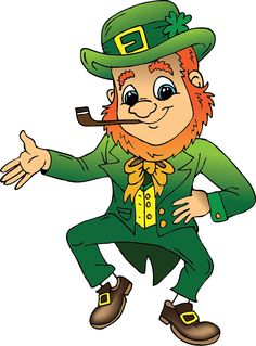 this cute and adorable leprechaun clip art is great for use on your rh pinterest com Chocolate Bunny Clip Art Free leprechaun clipart free black and white