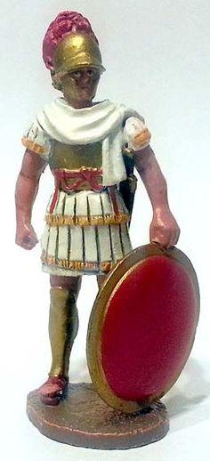 """Ufficiale superiore dell'esercito repubblicano romano, 75 a.C., numero 72 di """"Roma e i suoi nemici"""" (2011 Vadis) #Miniatures #Figures #AncientRome #OspreyPublishing"""