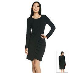 DKNYC® Ruched Dress