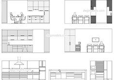 Pin by Mieko Suzuki on kitchen drawings plan, elevation