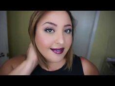 TEAM Wicked Lipsense layered look and easy shadowsense tutorial #teamwicked #onyxshadowsense #purplereign #lexiebeary #denim #fallfashion #fallmakeup #purplelipstick #makeuptutorial #Lipsense #lipsenselayering  #lipsensecombo