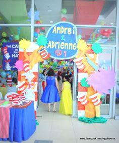 Dr. Seuss Party #drseuss #party