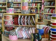 Esther's fabrics, Bainbridge Island, where it seemed like I lived! Ohhh the hours browsing and planning my next sewing project. Bainbridge Island, Fashion Fabric, Ribbons, Sewing Projects, Folk, Fabrics, San, Spaces, How To Plan