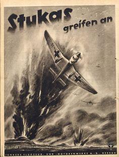 Luftwaffe - Stukas greifen an! (Stukas are attacking!)
