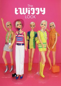 "Oh, wow, do I remember Twiggy! I even had one of the Twiggy dolls as a kid in the 60s.  ""I think mini skirts are smashing!"""