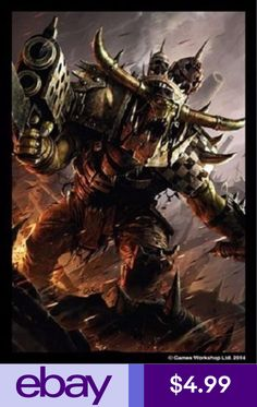 Codex orks by raymond swanland this concludes the 7th edition art orks warhammer 40k 50 pack art sleeves fantasy flight games fandeluxe Gallery