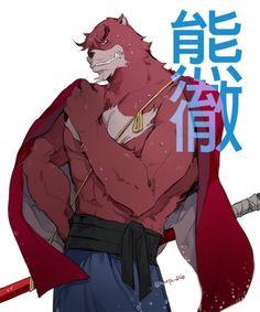 The Boy and the Beast #Kumatetsu (by hiroya_Dio)