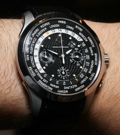 127cd51c916 TC World Timer Watch Hands-On Girard-Perregaux.